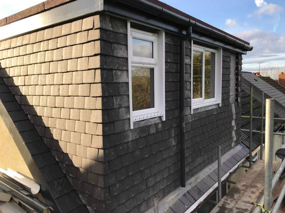 Rear Dormer Loft Conversion And Re Roof In Halesowen West
